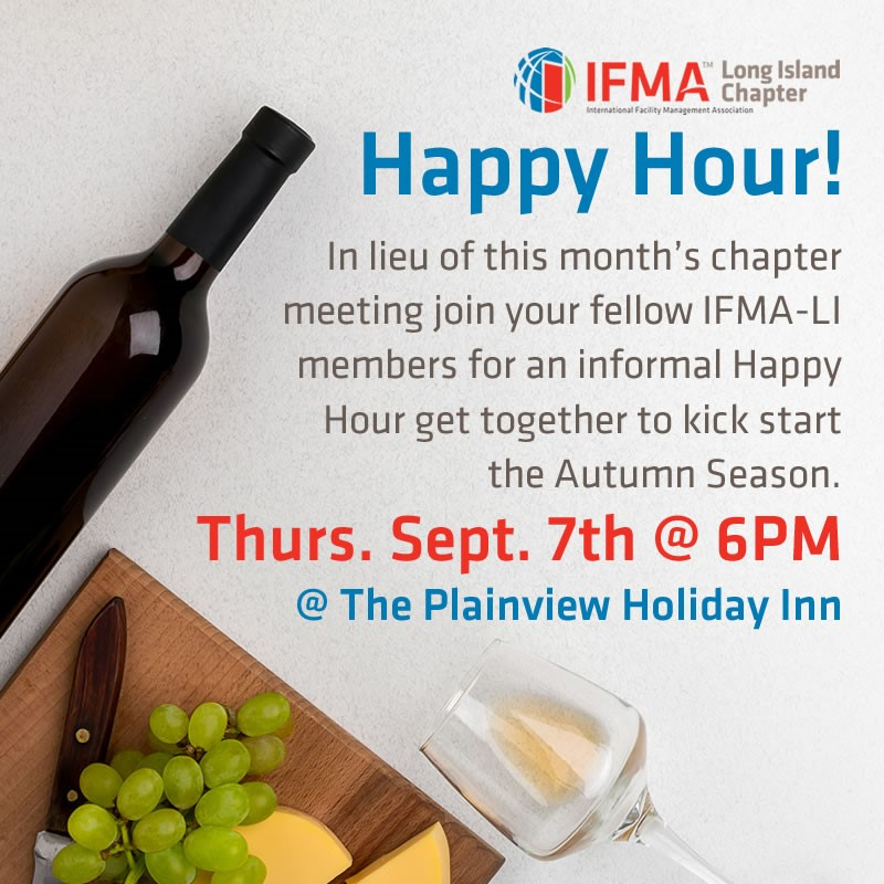 IFMA-LI Happy Hour Sept 2017